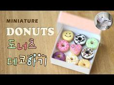 미니어쳐 도너츠꾸미기/miniature  donuts decoration
