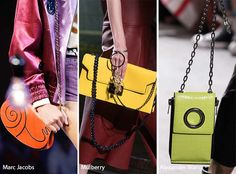Runway Spring/ Summer 2017 Handbag Trends: Bags with Chain Straps