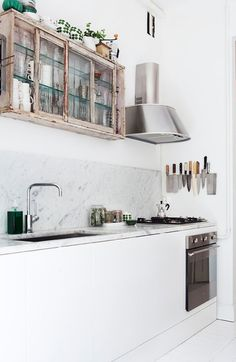 dream house: clever kitchen storage. / sfgirlbybay