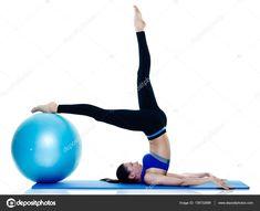 Pilates Workout, Exercise, Fit Women, Gym Equipment, Stock Photos, Fitness, Sports, Ejercicio, Gymnastics