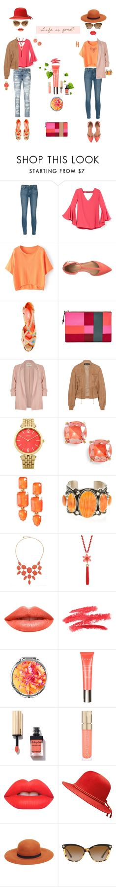 """""""life.is.good"""" by k-hearts-a ❤ liked on Polyvore featuring rag & bone, Frame, White House Black Market, Calvin Klein, Privileged, FOSSIL, River Island, Balmain, Kate Spade and Loren Hope"""