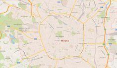 Milano city /Italy/ vector map - $95.00 #onselz
