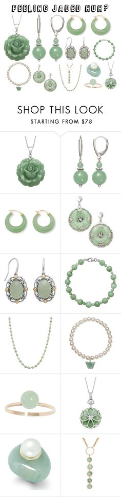 """""""jaded"""" by live-in-the-momentum ❤ liked on Polyvore featuring Palm Beach Jewelry, Pori and Jade Jagger"""