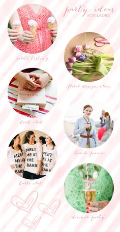 Fun summer party ideas for ladies!