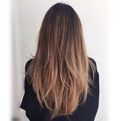 Brown Hair Balayage, Brown Blonde Hair, Hair Highlights, Brown Highlights, Sombre Hair Brunette, Balayage Straight Hair, Blonde Honey, Honey Balayage, Caramel Highlights