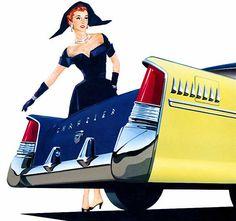 1950s Chrysler Ad