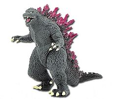 Godzilla and pink! Life can't get any better!