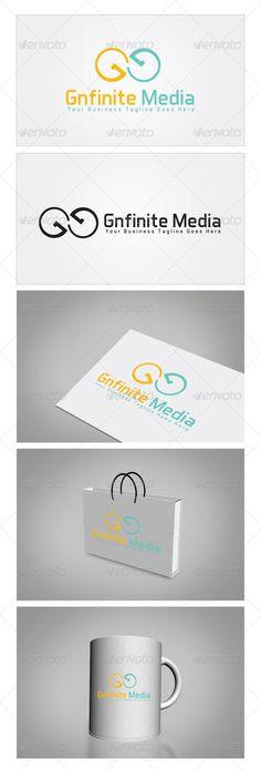 Gnfinite Media Logo Template - Letters Logo Templates
