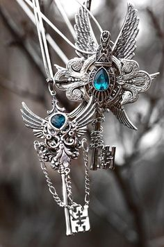 Angel Key #1 & #3: +10 Cryptic Power, Access Cloud 9