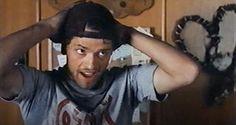 """baby-in-trenchcoat: """" Misha Collins in Par 6 - 2002 """""""
