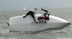 Capsizing | Sailing Photos - The Ups and Downs of Dinghy Sailing | YachtPals.com