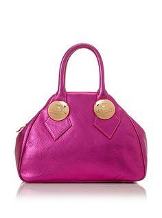 Vivienne Westwood Women's 2 Handle Bag, Fuchsia at MYHABIT