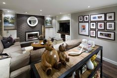 Image detail for -The old adage, ''you can't please all of the people all of the time,'' doesn't apply when designing family rooms. Generally speaking, these spaces m