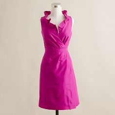 Silk taffeta Blakely dress from J.Crew $250 #bridesmaids