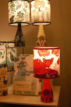 Lush designs new lamp bases: Home London 2014. Coming to Radiance soon!