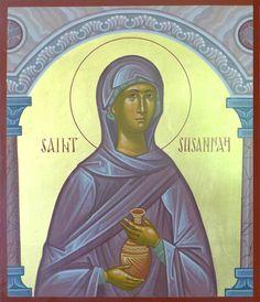 St. Susanna the Myrrhbearer by Dmitry Shkolnik