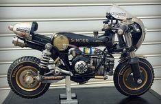 """""""Singer"""" Sewing Machine Motorcycle"""