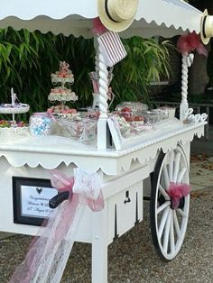 Stunning Vintage Sweet Cart Owned By Such Memories For Booking Details Email Enquiries
