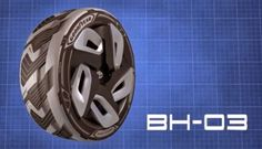 Goodyear BHO3 concept tire generates electricity