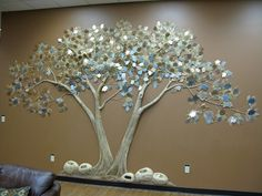 etched donor recognition tree  | Tom Moberg: Corporate Healthcare Liturgical | Artist Portfolio ...