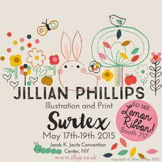 print & pattern: SURTEX 2015 - jillian phillips