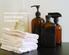 A handful of zero waste cleaning tips I've never heard of based on products I have. from Paris To Go