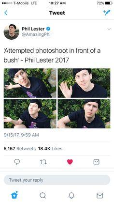 He's so adorkable though Phil 3, Dan And Phil, Beautiful Meme, Phan Is Real, British Guys, Danisnotonfire And Amazingphil, Phil Lester, Meme Lord, Dan Howell