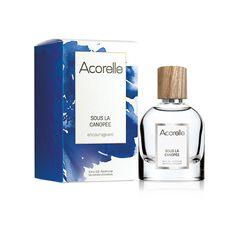 Eau de Parfum Sous la Canopée Acorelle Parfum Bio, Fragrance Parfum, Green Cleaning, Sillage, Perfume Bottles, Coffee, Drinks, Alcohol, Products
