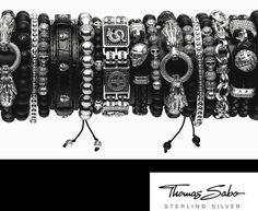 Like bracelets? Looking for something a little more unique? Thomas Sabo introduced his 2012 Spring/Summer sterling silver collection for men.