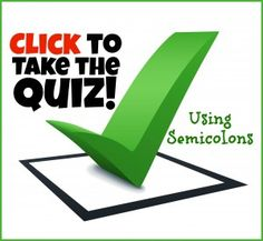 Grammar question about semicolons?