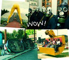 Parques de diversão, ou nem tanto!