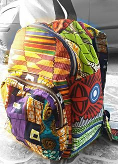 by African lace African American Fashion, Kitenge, African Lace, Dashiki, Tribal Prints, Vera Bradley Backpack, I Fall In Love, Wax, Crafting