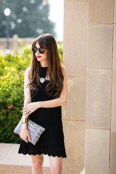 black halter dress on M Loves M @marmar