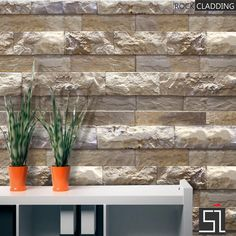 Stone Cladding For Office Interiors !!  Enquire - 9982666712  #stonecladding #rockcladding #wallcladding #stonetiles #walltiles #wallart #decor #stonewallcladding #tiles #stripcladding #stoneideas #india   www.stone-ideas.in www.stone-arts.com