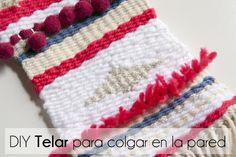 F de Fifi - #elretopinteretest septiembre DIY Telar - Weawing