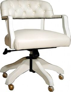 luxury leather office chair white swivel chair desk chair executive chairs leather furniture armchair chesterfield presidents leather office chair amazoncouk