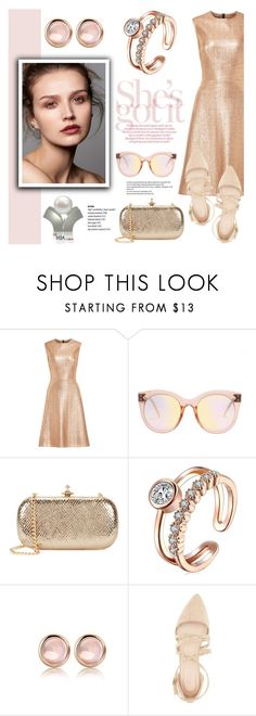 """La Mia Cara/Jewelry and Accessories"" by helenevlacho ❤ liked on Polyvore featuring Lela Rose, Vivienne Westwood and Charlotte Russe"