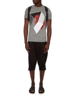McQ Alexander Mcqueen Abstract-print T-shirt