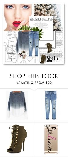 """""""Shein"""" by marijaprusina ❤ liked on Polyvore featuring Giuseppe Zanotti, Bobbi Brown Cosmetics, Casetify, women's clothing, women's fashion, women, female, woman, misses and juniors"""