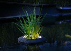 Uun origina efecto luminoso que trasmite relajación