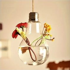 wedding Find More   Information about Light bulb transparent glass vase modern fashion hydroponic flower vase decoration 2014 vase hanging buld vases flowers pot,High Quality  ,China   Suppliers, Cheap   from Online Store 939646 on Aliexpress.com