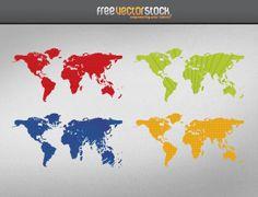 Worldmaps | Free Vector Graphic Downloads