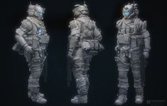 ArtStation - TF2_medium pilot_male, robb shoberg