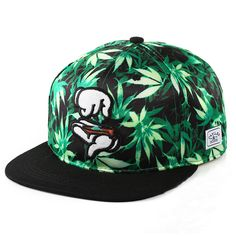 Sports Style Fashion Men Women Hat Snapback Cap Finger Weed Leaf Mujer Beisbol Baseball Cap Hip Hop Hat Gorras Boina Hoquei Toca