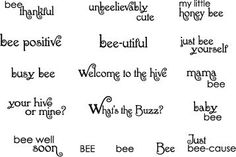My little honey bee Honey Bee Sentiments July 2008 Release (double check) Honey Favors, Honey Wedding Favors, Bee Puns, Buzz Bee, Bee Cards, Scrapbook Supplies, Scrapbooking, My Stamp, Clear Stamps