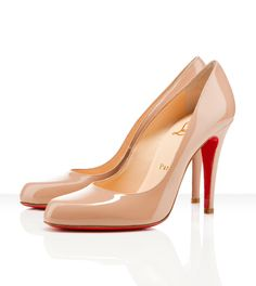 Breathtaking. I could break hearts and get married in shoes like these. #Louboutin