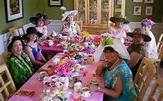 ladies tea party with hats - Yahoo Search Results Yahoo Image Search Results