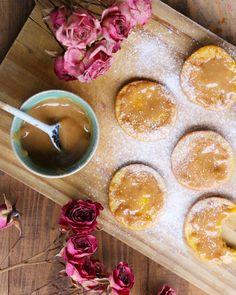 Y en #sopaipillas con #manjar  la #receta en el #blog  link en el perfil www.cherrytomate.com #chile #18 #instagood #recipe #foodie