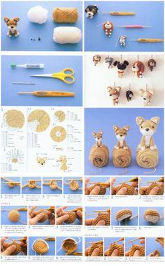 Crochet a puppy #amigurumi #amigurumidoll #amigurumipattern