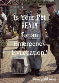 Is Your Pet Ready for an Emergency Evacuation?  (Home Ready Home)